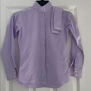 Essex Classic equestrian show shirt with collar